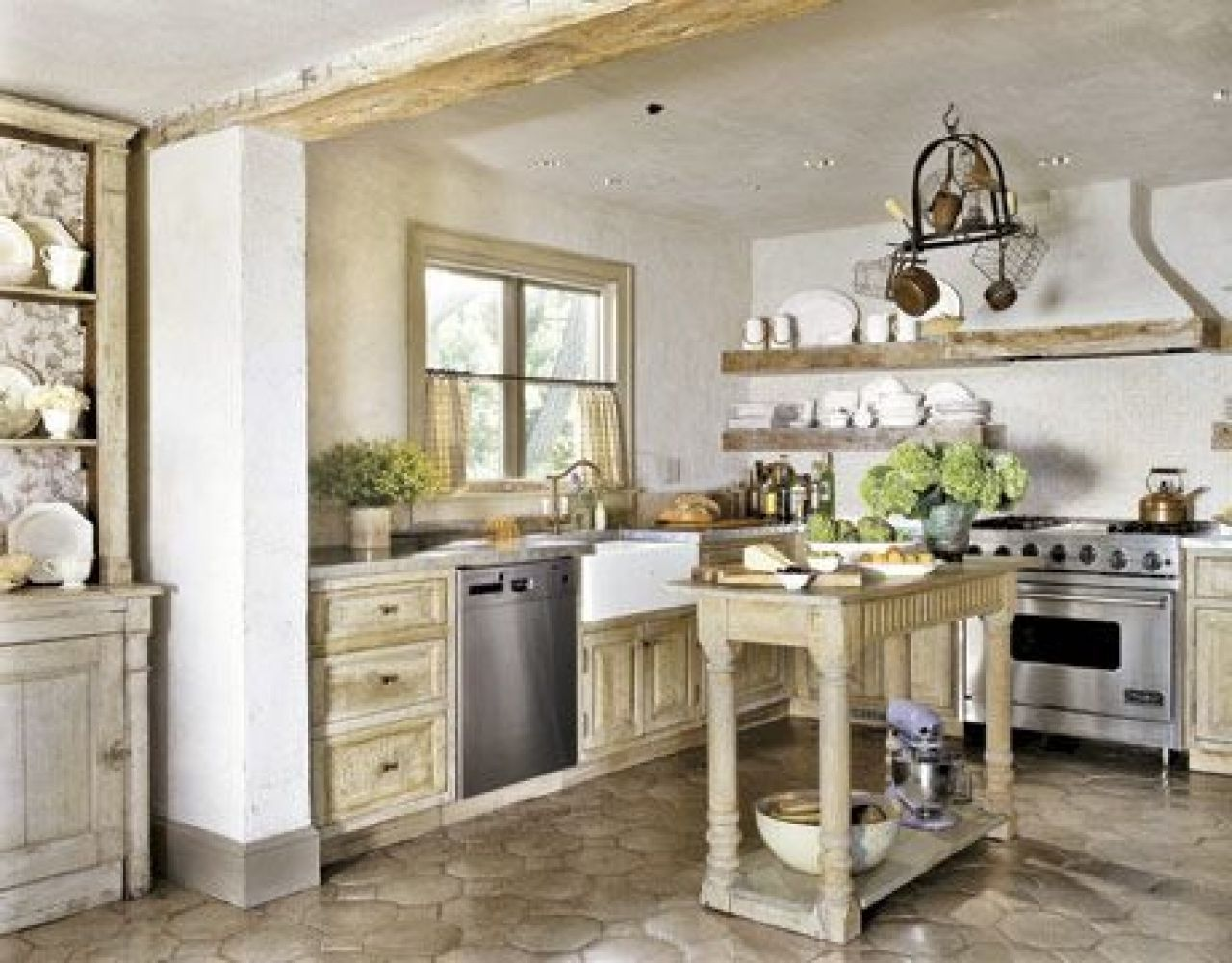 Shabby Chic Kitchen With Diffe Touch The Inspiration