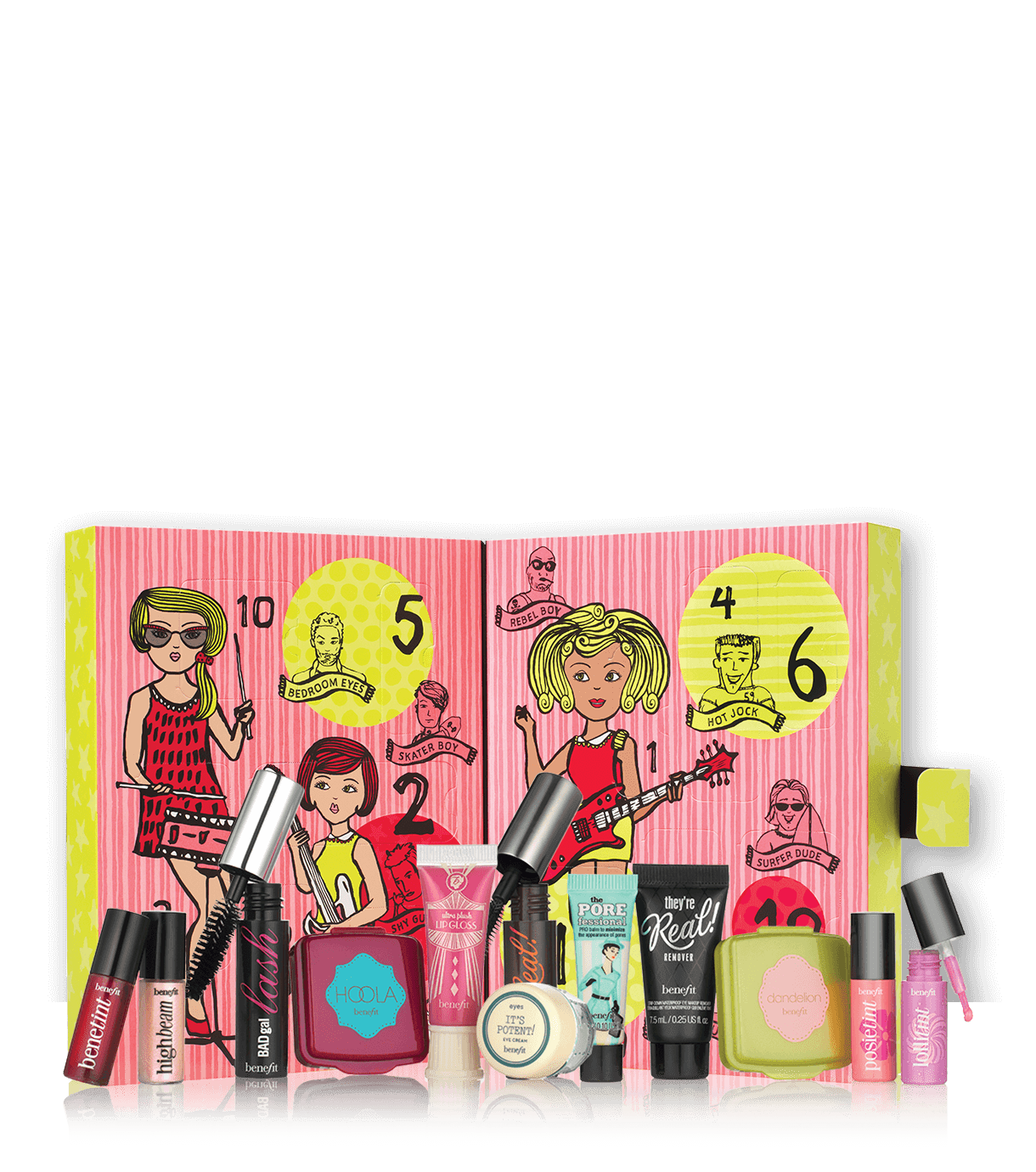 Girl O Clock Rock 12 Days Of Christmas Advent Calendar Benefit Cosmetics Beauty Advent Calendar Cosmetic Advent Calendar Benefit Cosmetics