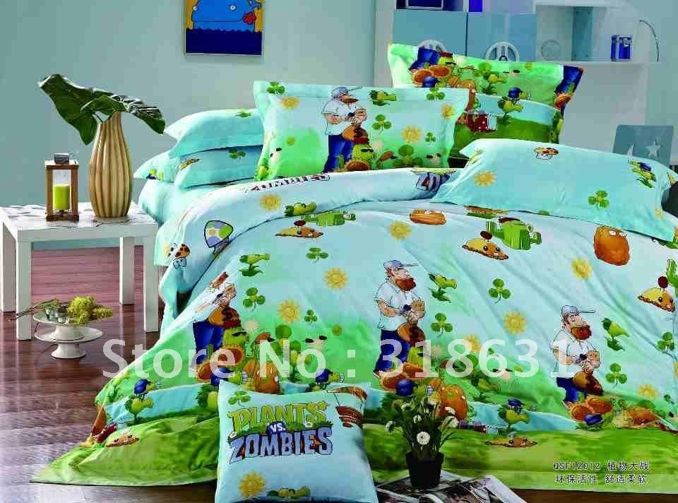 Hot sale new listing bedding sets comforter sets 5pcs for Zombie room decor