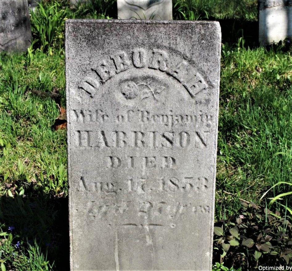 Deborah Connel Harrison Graphic Headstones Crawford County