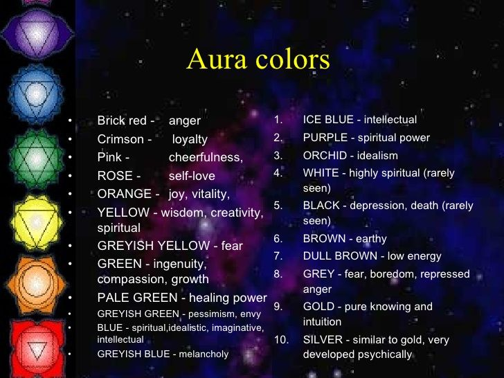 How Do You Know What Color Your Aura Is