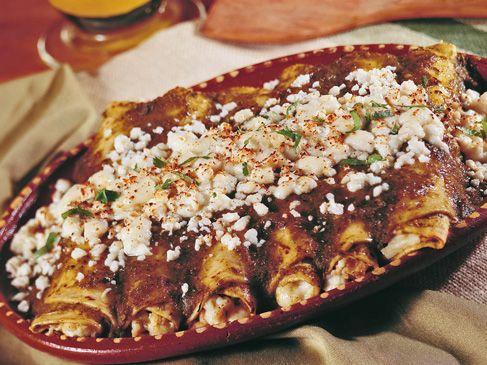 Red Chicken Enchiladas Cacique Usa Red Chicken