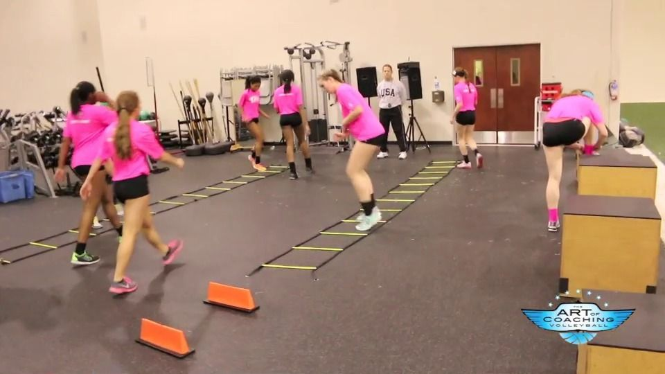 Pre-practice strength and agility volleyball workout | The Art of Coaching Volleyball