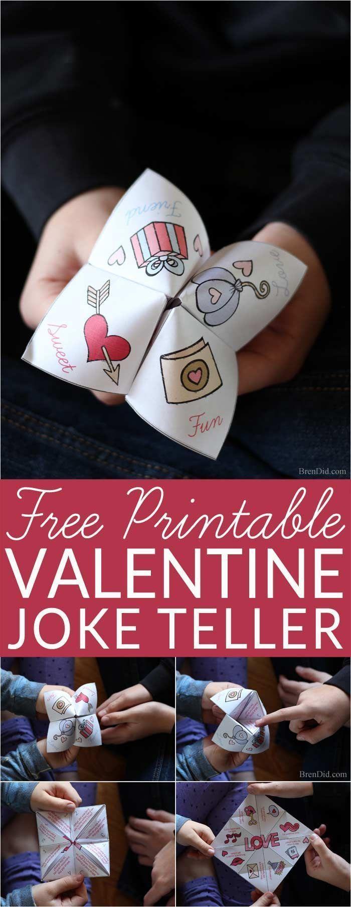 Silly Valentine Joke Teller for Kids