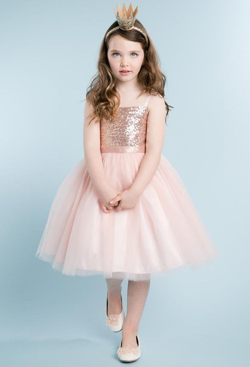 Fashion Flower Girl Dresses,Blush Color Flower Girls Gowns,Girl ...