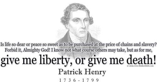 give me liberty quote