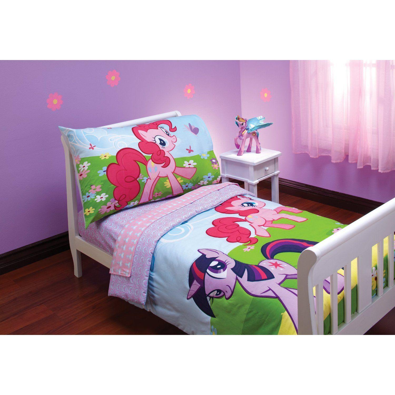 My Little Pony Crystal Princess Ponies Toddler Bed Set Little Girls Bedroom Sets Girls Bedroom Sets