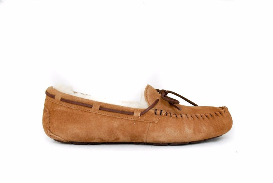 236700dacd0 UGG Women Dakota 5612 Moccasin Slipper in CHESTNUT Sz 5-12 NEW w ...