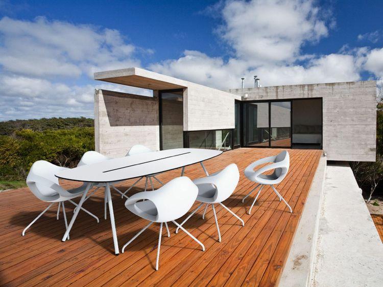 Tisch Modern Design outdoor tisch gartentisch design board modern surfboard