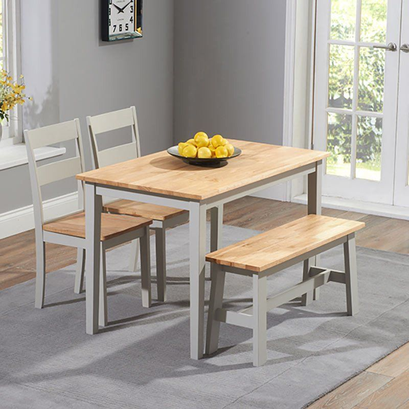 Space Shape Grey Dining Tables Oak Dining Sets Compact