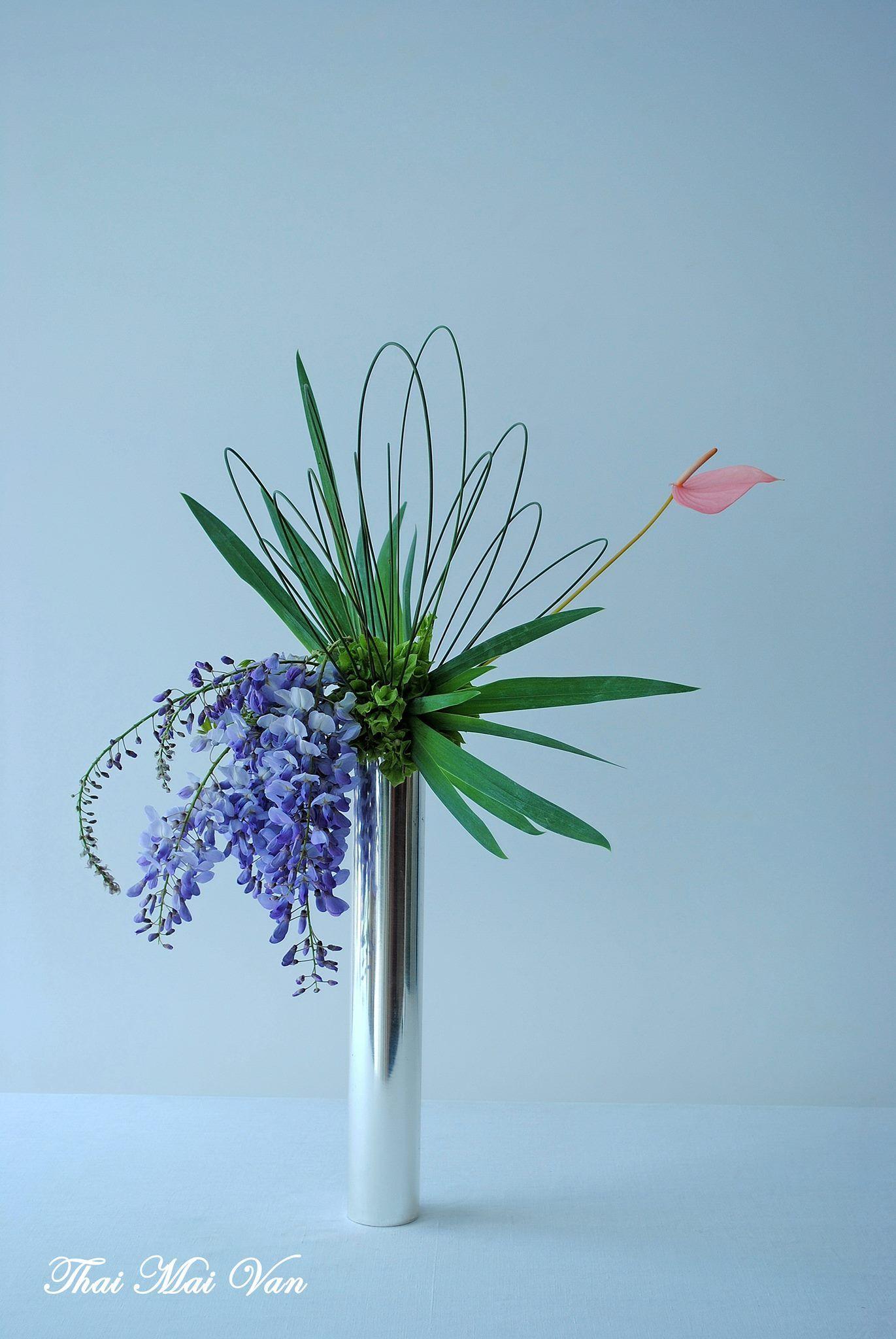 a beautiful wisteria arrangement Fill the Space Pinterest