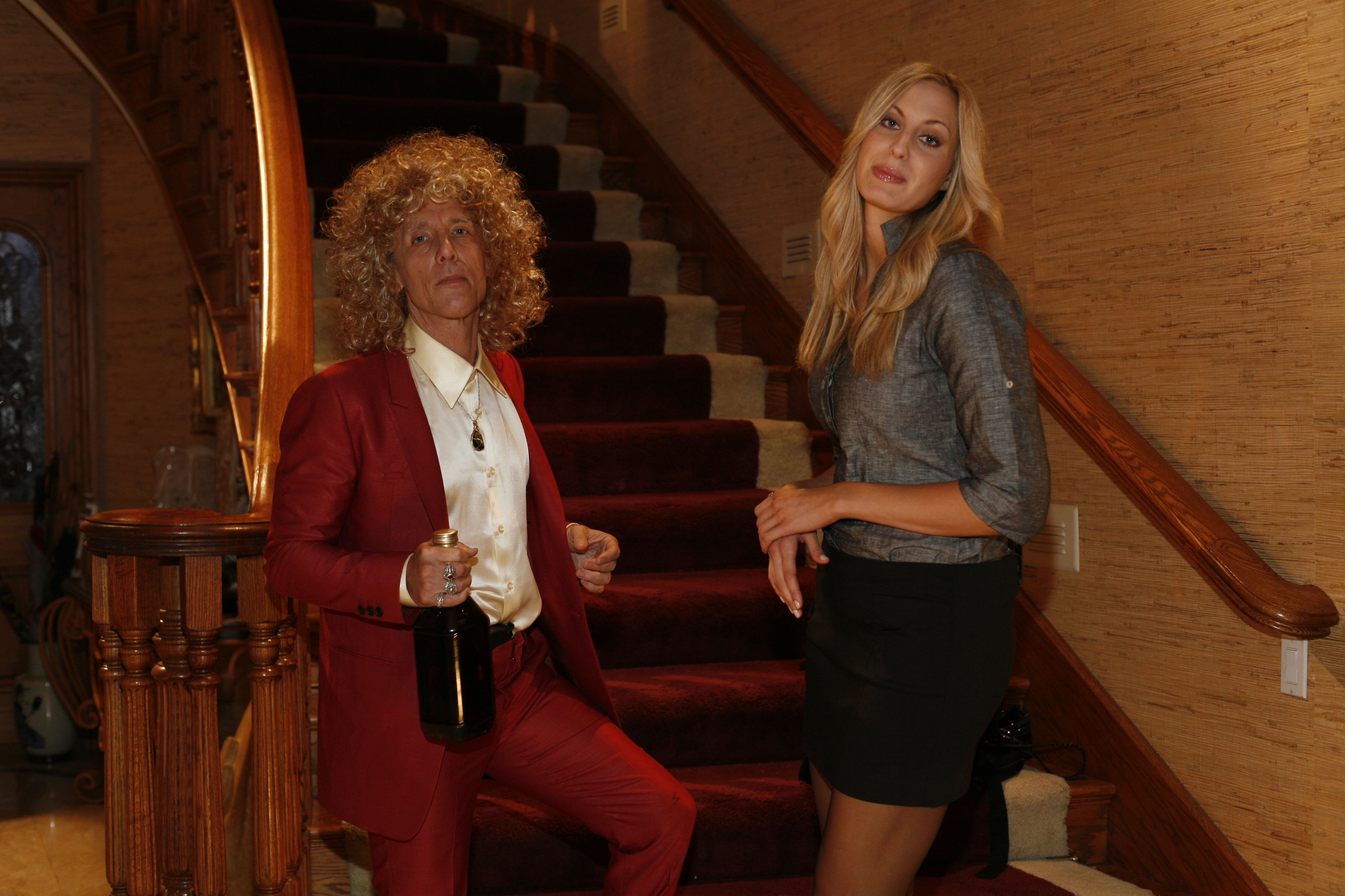 Solomon King As Phil Spector And Monica Lee As Lana Clarkson