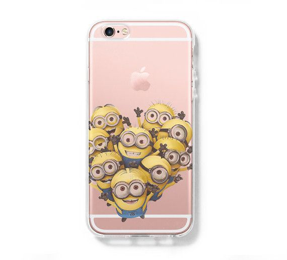 Despicable me Minion iPhone 6s 6 Clear Case iPhone 6 plus Cover ...