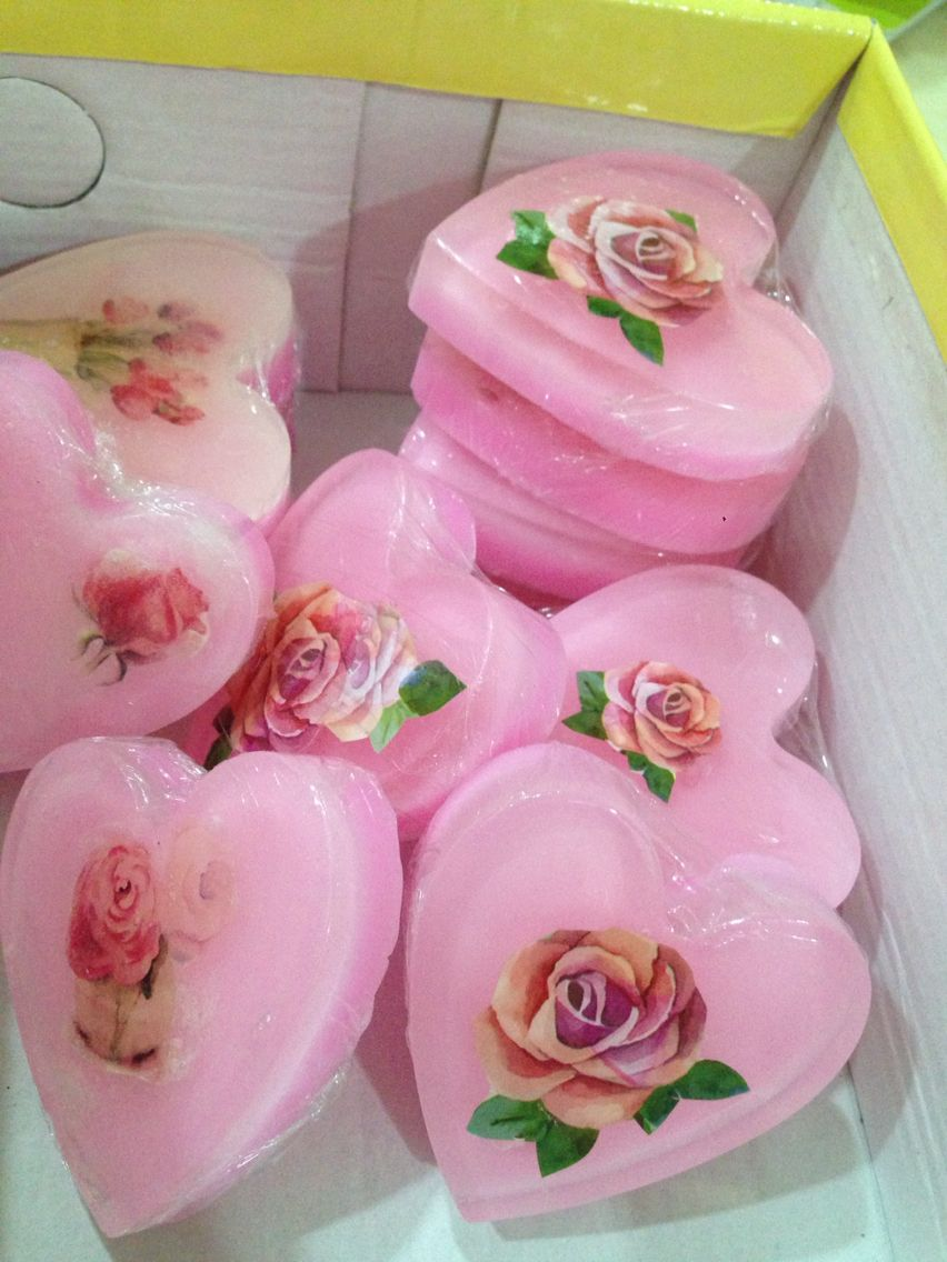 Wedding doorgifts, scented homemade soap | My Passion - Folkart ...