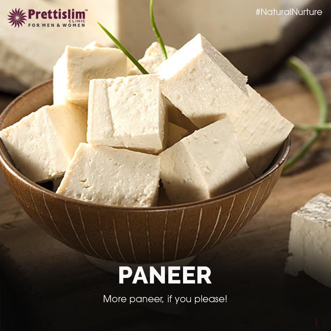 NaturalNurture Wondering what to snack on? Pick Paneer