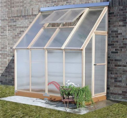 Lean To Greenhouse   They Had A Lean To Greenhouse In The Homesteading Book  The Good