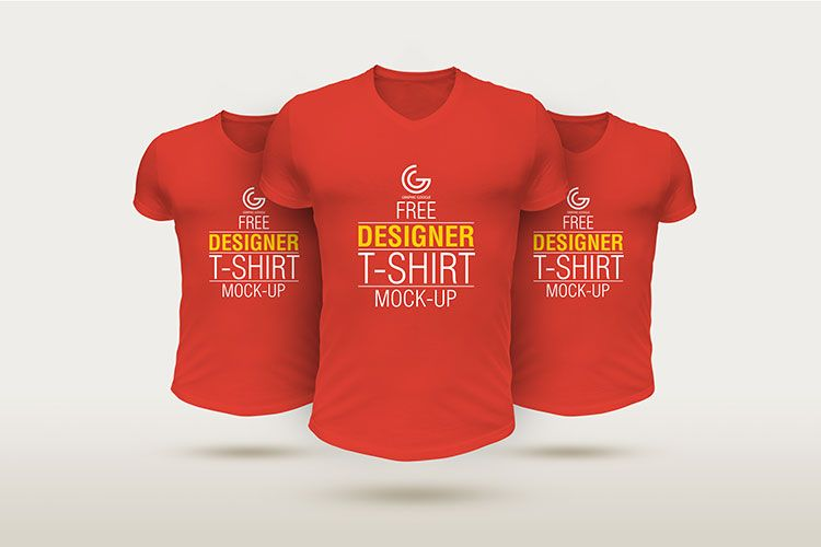 Download Designer Tshirt Mockup PSD | Shirt mockup, Tshirt mockup ...