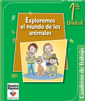 cuaderno de trabajo exploremos animales 3º y 4º primaria