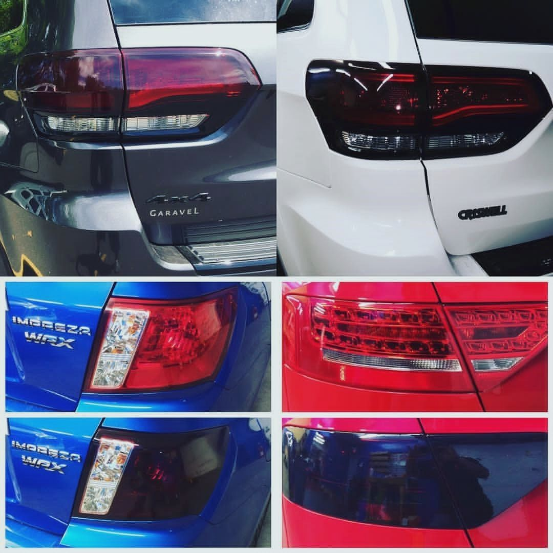 Add Some Style By Tinting Your Tail Lights We Can Either Wrap Or