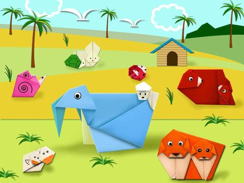 Origami on the go 40 paper folding projects for kids who for Craft work with paper folding