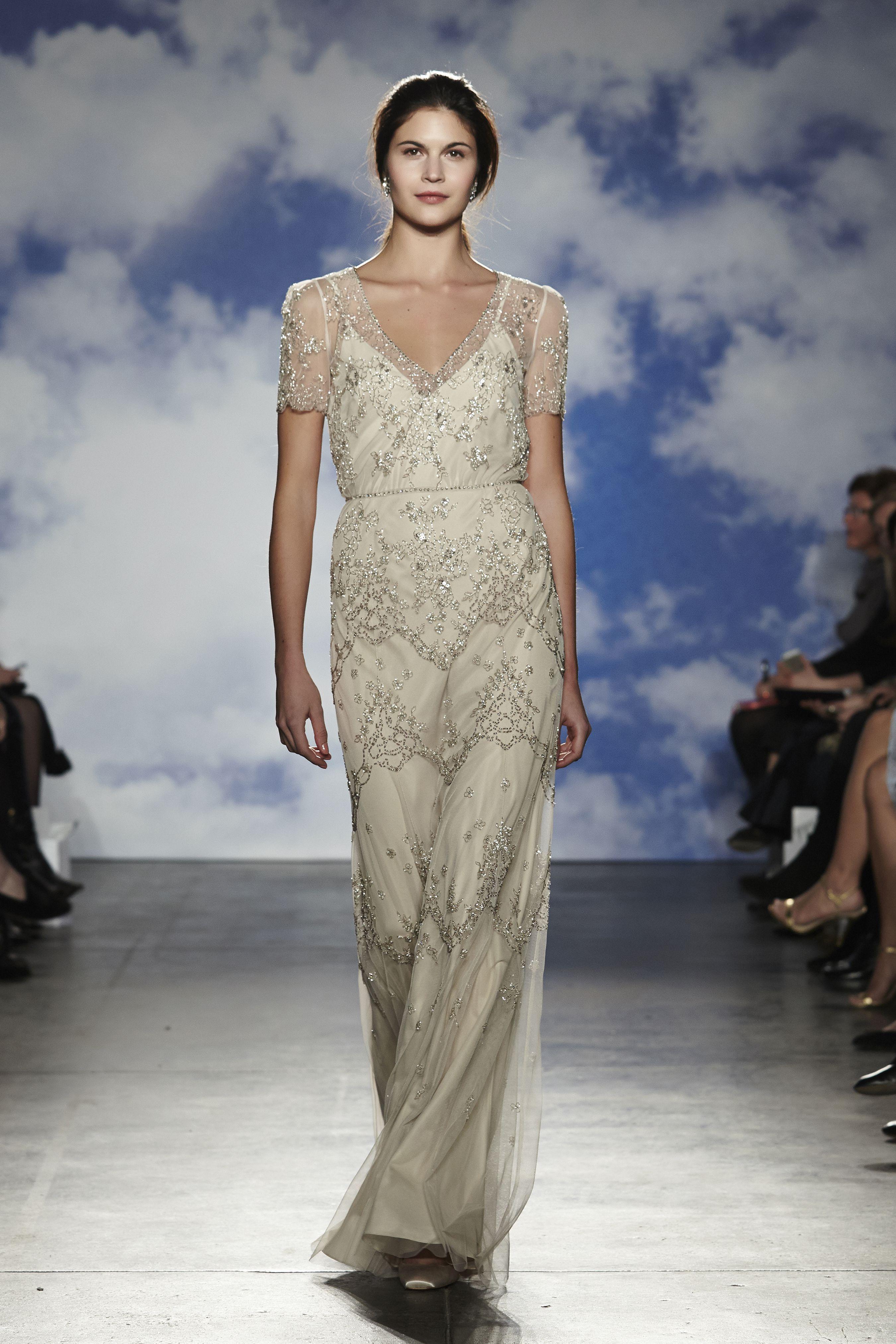 Robe De Mariée Jenny Packham à Paris Wedding Dress In Leila