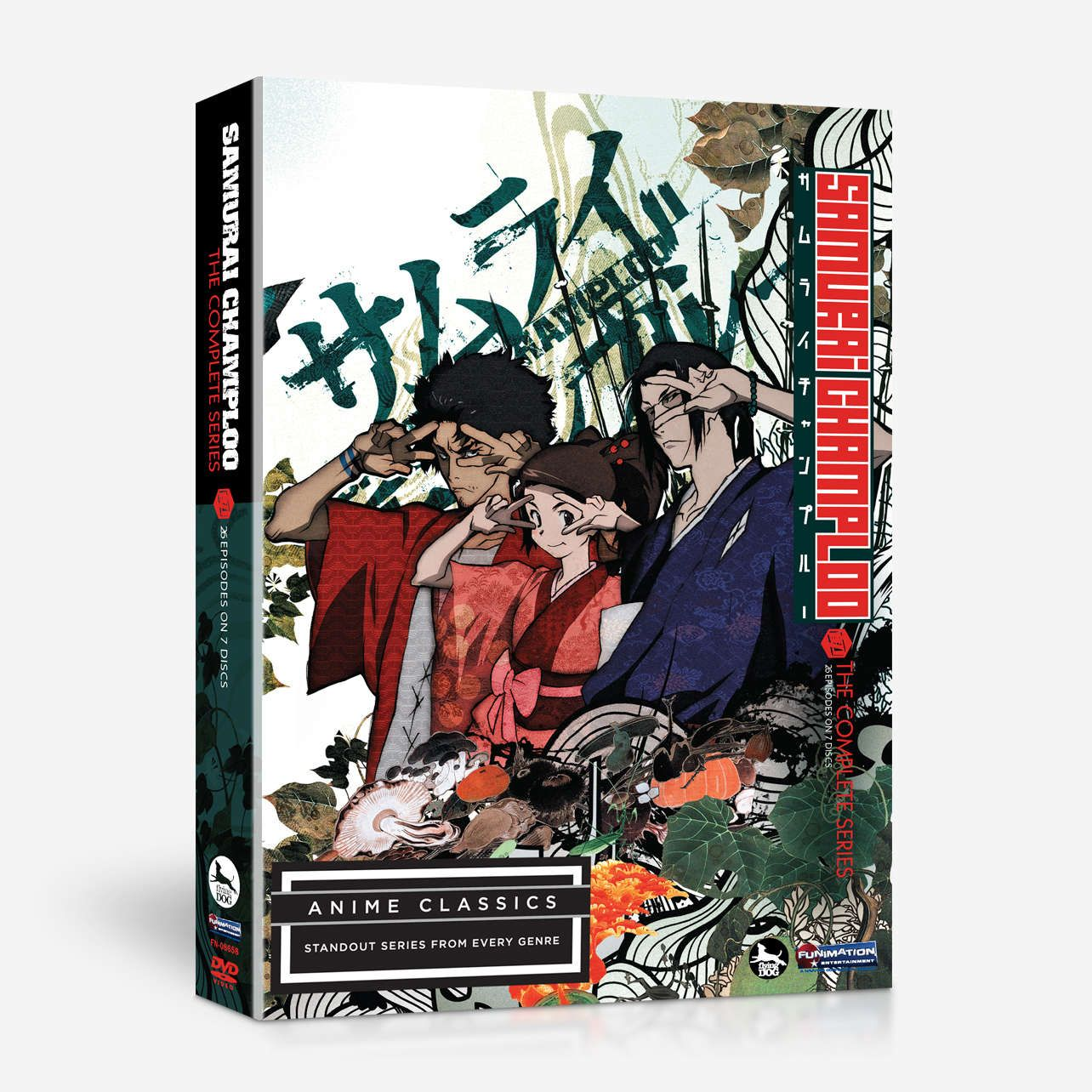 Samurai Champloo The Complete Series Anime Classics