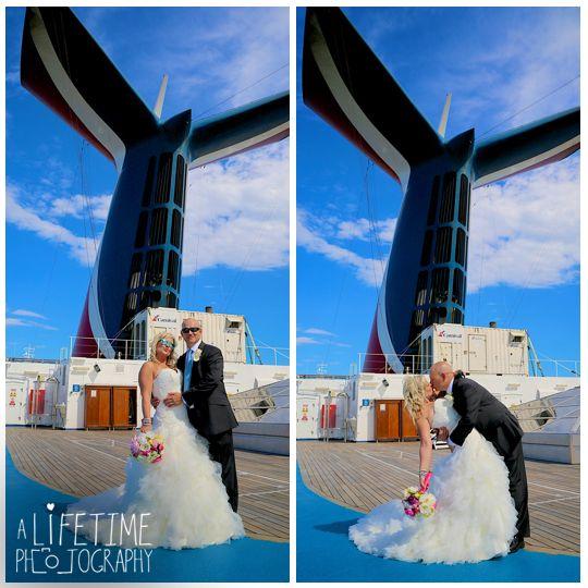 Cruise Ship Weddings: Destination Wedding Photographer. Wedding Ceremony On The