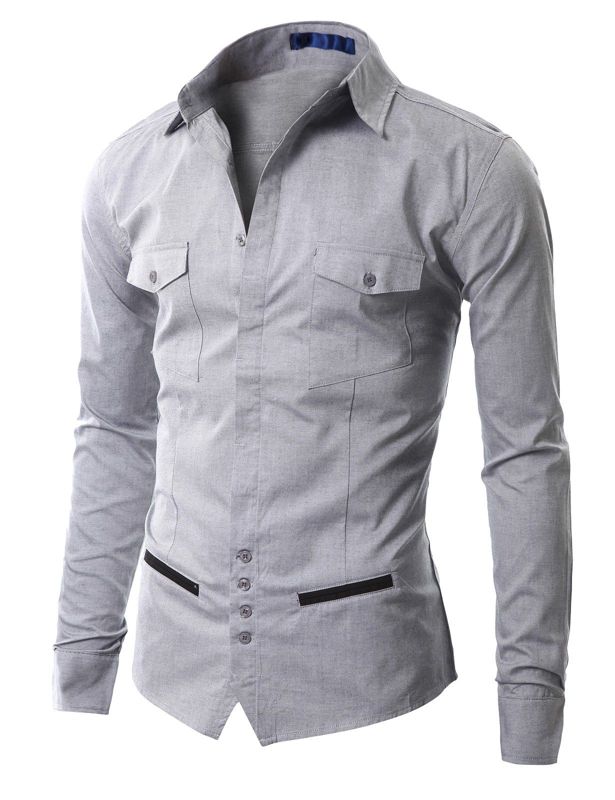 Mens Casual Unique design Dress Shirts (AAK01)  21608550d