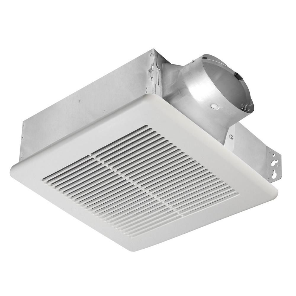 Slim Series 100 Cfm Ceiling Or Wall Bathroom Exhaust Fan  Products Simple Small Fan For Bathroom Design Inspiration