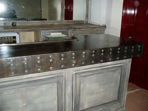 Zinc Bar Tops - Brooks Custom Zinc Products | Zinc ...