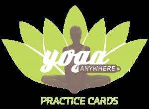 yogaanywhere practice cards  monkey pose teaching yoga
