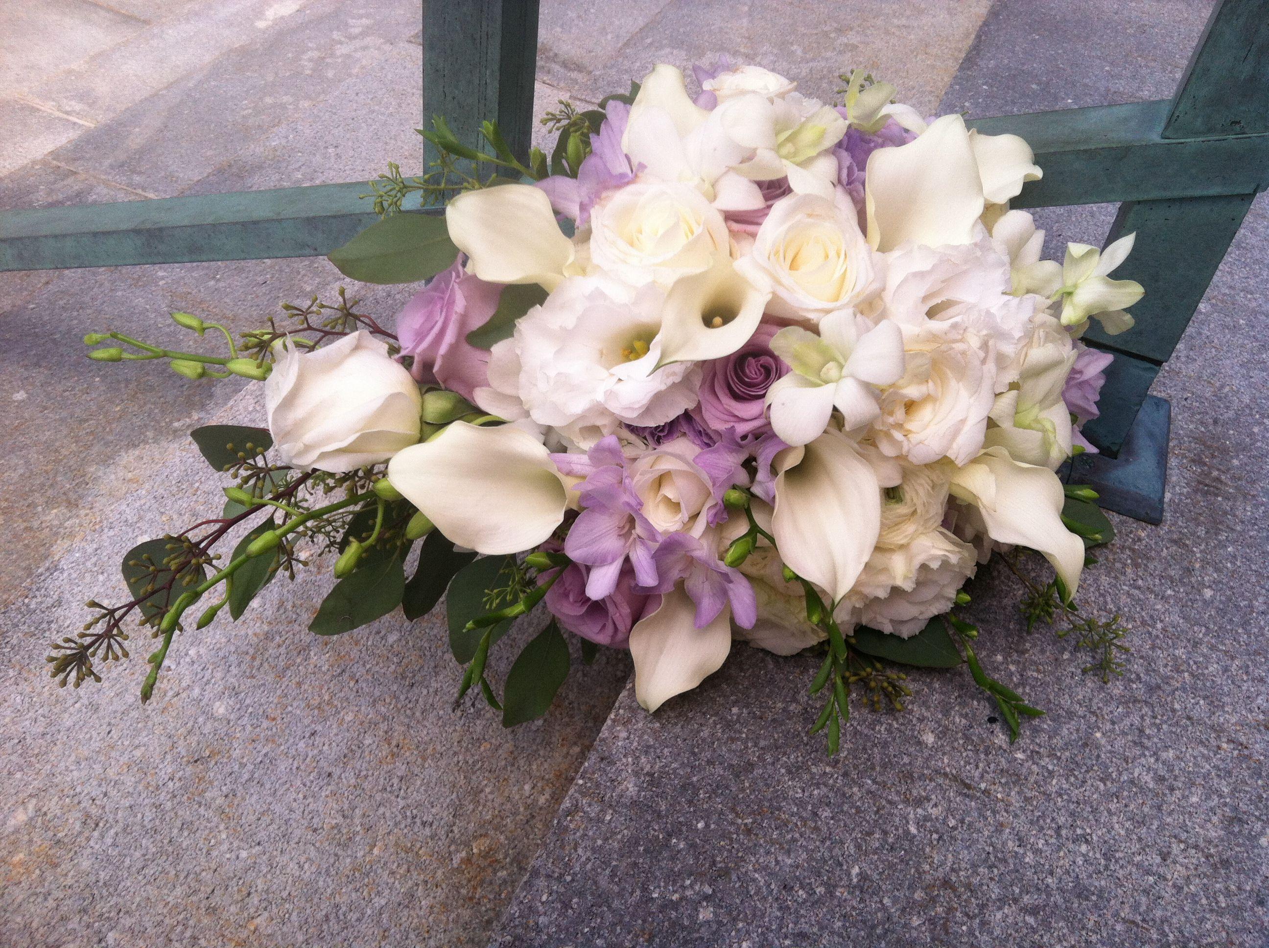 Gorgeous Cascade Bouquet By Patricia St Marys Ohio