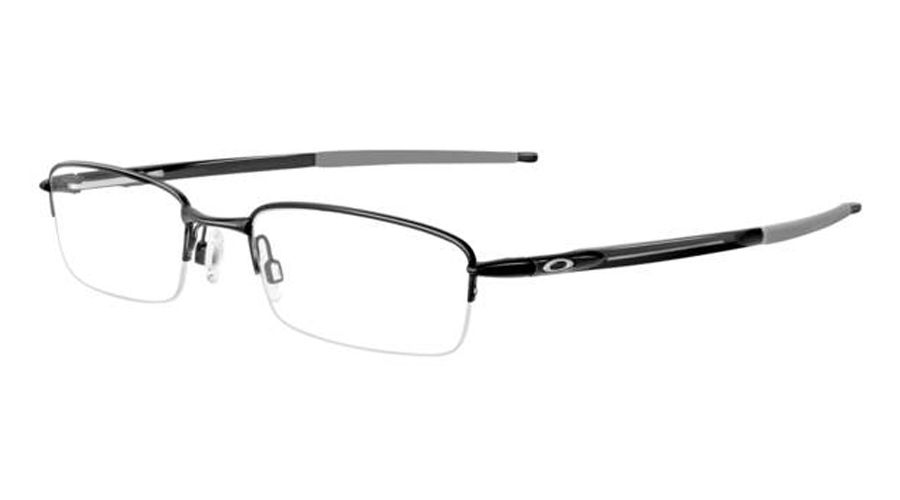 oakley a frame glass  oakley ophthalmic rhinochaser c.satin black s.52 eyeglasses