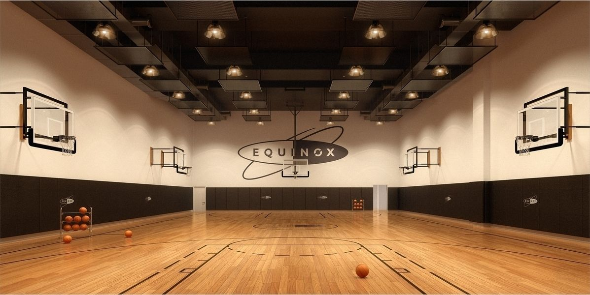 One Mima Tower At 460 West 42nd Street Basketball Room Nyc Real Estate Luxury Loft
