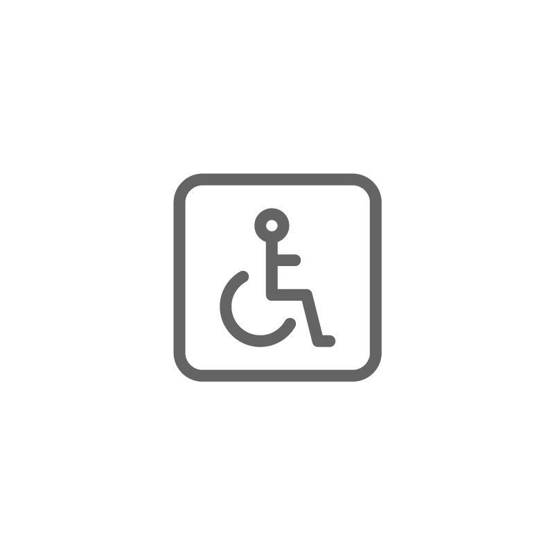 Disability Disabled Sign Icon Download On Iconfinder Business Card Icons Icon Signs