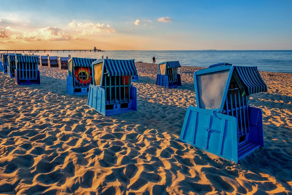Alone With The Beach Chairs by Olivier Rentsch on 500px