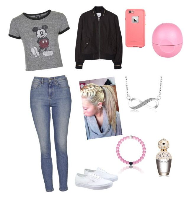 """""""Just a normal school day outfit"""" by cisnerosal on Polyvore featuring Topshop, MANGO, Vans, Marc Jacobs, River Island, women's clothing, women's fashion, women, female and woman"""