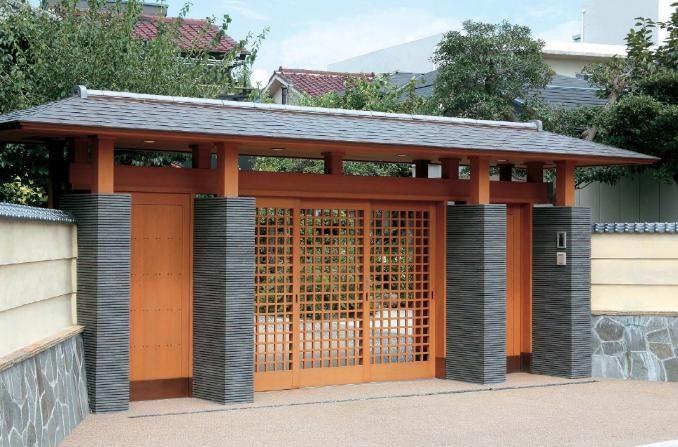 Japanese Gate Typology 30 Japanese Gate House Gate Design
