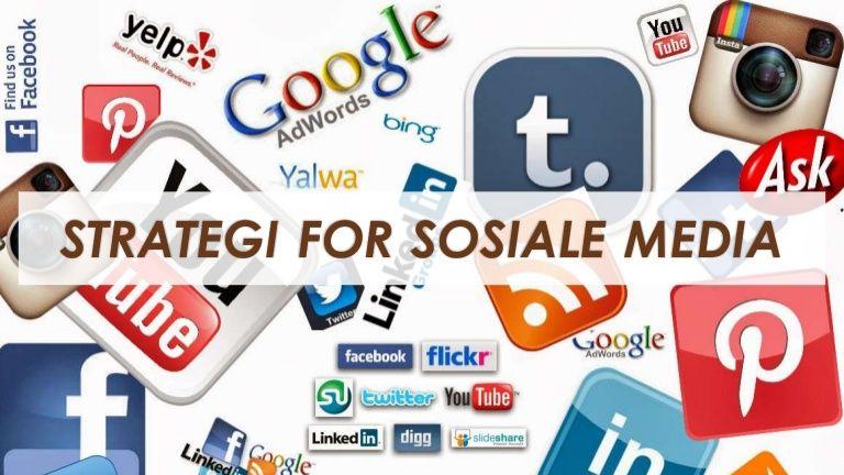 Viktige spørsmål å stille ift. en virksomhets satsing på sosiale medier.