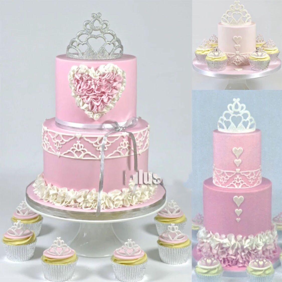 2.99 GBP - Cutter Tiara Fondant Icing Cutting Tool For Cake ...