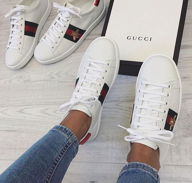 Sneakers, Gucci sneakers, Cute shoes
