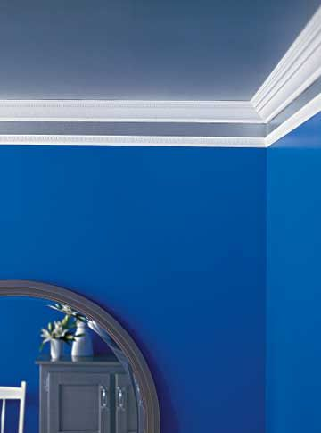 Four Pretty Ceiling Projects Colored Ceiling Ceiling Wallpaper Border