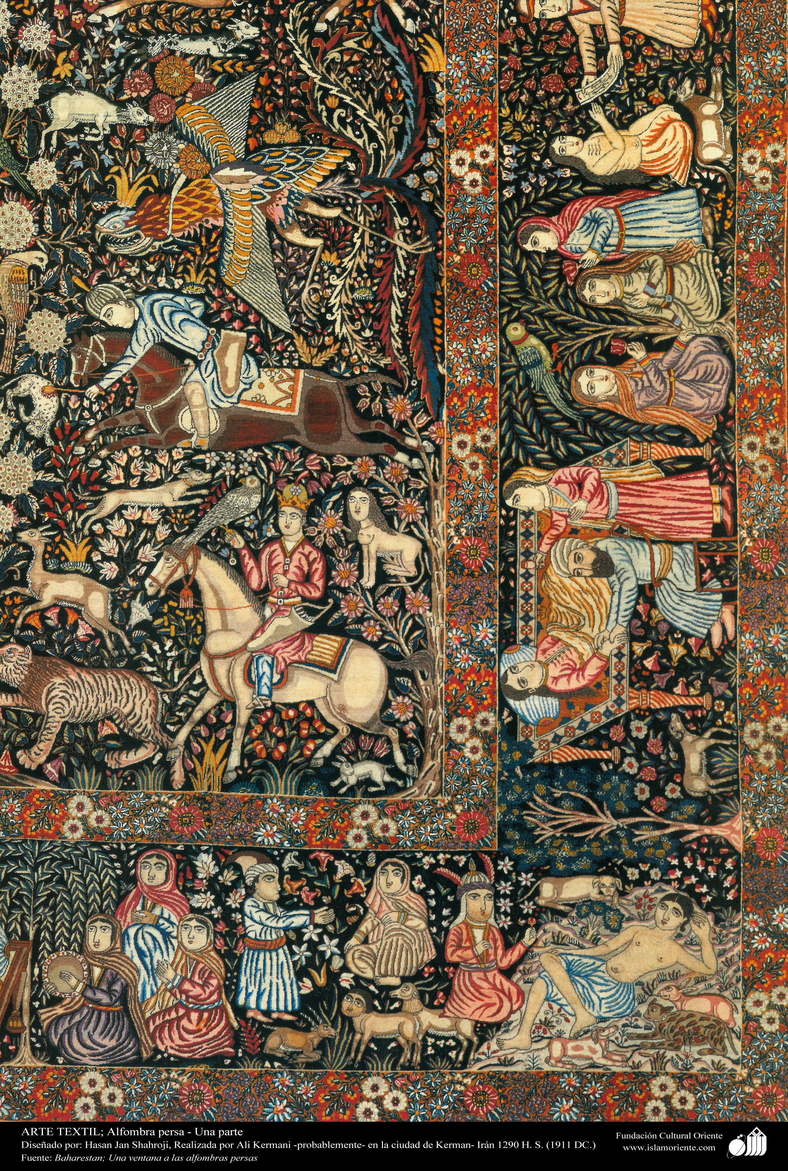 Antique Persian rug | The Great Silk Road Still Lives ...