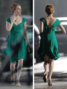 la la land emma stone buscar con google figurinos filmes pinterest robe classe robe. Black Bedroom Furniture Sets. Home Design Ideas