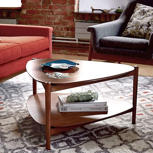 Beau Retro Tripod Coffee Table | West Elm