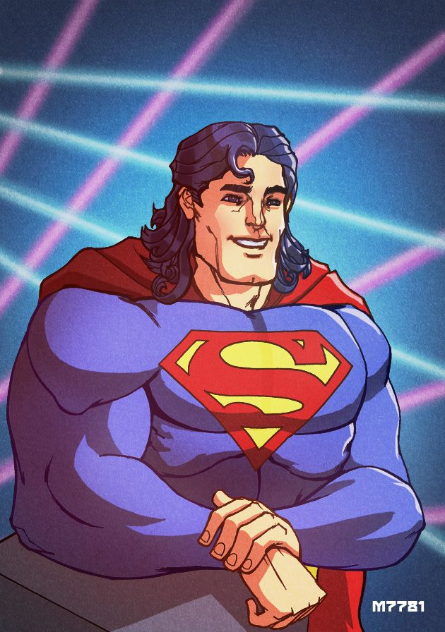 DC Comics Girls Superman Strong Silent Sweatshirt