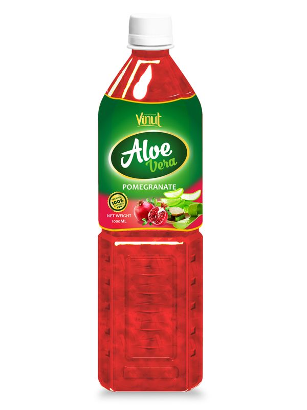 1L VINUT Aloe vera drink with Pomegranate flavour | VINUT