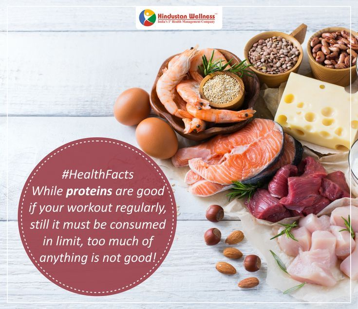 - While proteins are good if your workout regularly, still it must ...