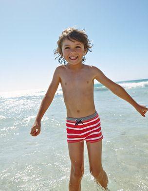 0e2c61aefa Swim Trunks 26058 Swimwear at Boden | KidsnShiz | Boys swimwear ...