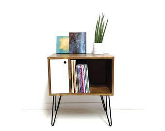 Vinyl Record Storage, Console Table, Record Cabinet, Sideboard, Media  Console, Vinyl